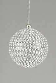 Premier Silver Diamante Ball - 70mm