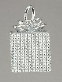 Premier Silver Diamante Square - 10cm