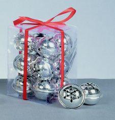 Premier Silver Jingle Bells - 12cm