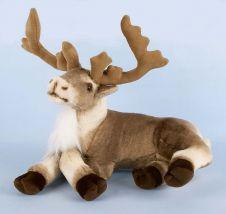 Premier Sitting Reindeer - 40cm