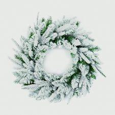 Premier Snow Wreath - 50cm