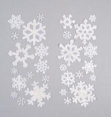 Premier Snowflake Window Sticker Set - 13 Pack