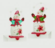 Premier Snowman Stocking Holder - 21 x 11cm
