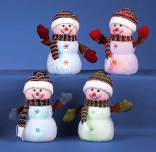 Premier Snowman With Hat & Scarf - 23cm