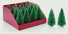 Premier Snowy Grn Mini Tree Incdu - 16cm