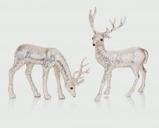 Premier Standing or Grazing Reindeer - 31-28 Champagne Gold