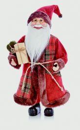 Premier Standing Santa With Glasses - 40cm