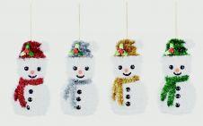 Premier Tinsel Trim Decorations - 15cm