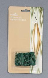 Premier Tree Decoration Hooks - 100 Pack