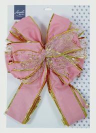Premier Tree Top Bow - Rose Gold 1.2m