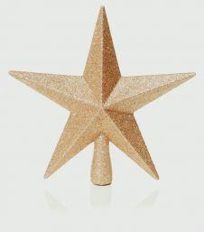 Premier Tree Top Star - 20cm Rose Gold