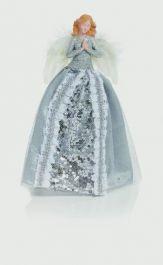 Premier Treetop Angel - Silver 28cm