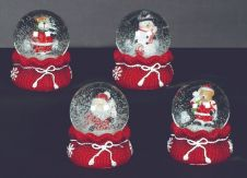 Premier Water Globe with Christmas Sack Base - 45mm