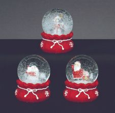 Premier Water Globe with Christmas Sack Base - 65mm