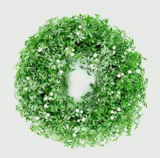 Premier White Berries Wreath - Green & White 45cm