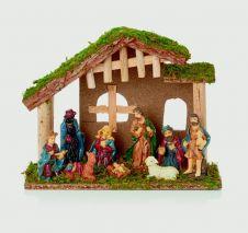 Premier Wooden Nativity - 30cm