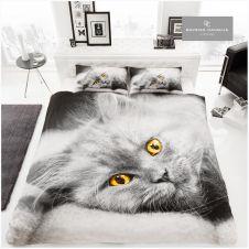 PREMIUM DUVET SET 3D CAT
