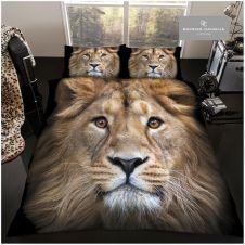 PREMIUM DUVET SET 3D LION