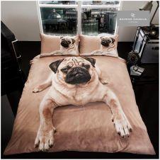 PREMIUM DUVET SET 3D PUG DOG