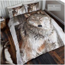 PREMIUM DUVET SET 3D WOLF