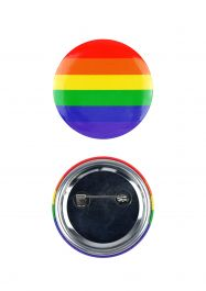 Rainbow Badge 4 Cm (Pack of 12)