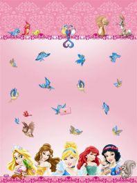 Princess & Animal Table Cover