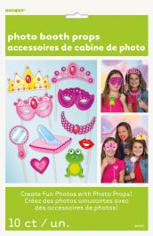 Princess Photo Props (Pack of 10)