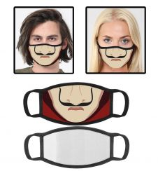 Printed Cotton Face Mask With Filter Pocket