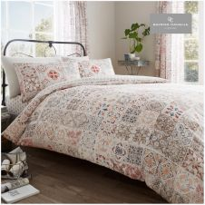 PRINTED DUVET SET AMIRA NATURAL