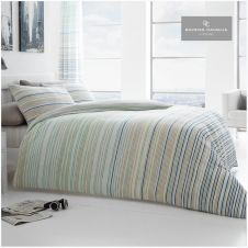 PRINTED DUVET SET ANDREA NATURAL