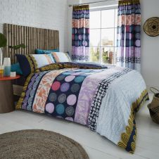 PRINTED DUVET SET ANOUK BRIGHT