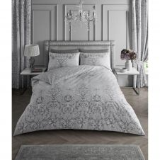 PRINTED DUVET SET ANTONINETTE GREY