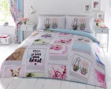 PRINTED DUVET SET BLISS