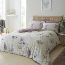 PRINTED DUVET SET BOTANICAL GARDENS NATURAL