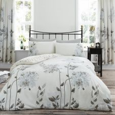 PRINTED DUVET SET CAMILA NATURAL
