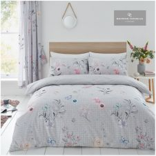 PRINTED DUVET SET CECILIA GREY