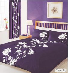 PRINTED DUVET SET CHANTILLY BERRY