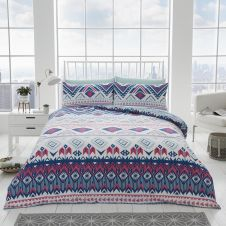 PRINTED DUVET SET DAKOTA BRIGHT