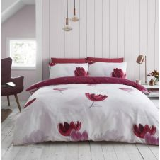 PRINTED DUVET SET DARCY PURPLE