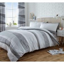 PRINTED DUVET SET DEXTER GREY