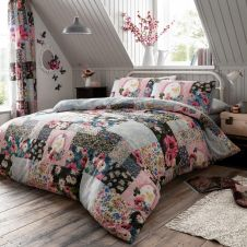 PRINTED DUVET SET ELLIS MULTI