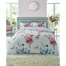 PRINTED DUVET SET EMILIA GREY