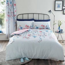PRINTED DUVET SET ERIKA GREY