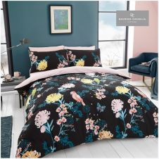 PRINTED DUVET SET JAPANESE FLORAL SINGLE