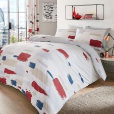 PRINTED DUVET SET JONAH NATURAL
