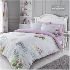 PRINTED DUVET SET MADELINE GREY