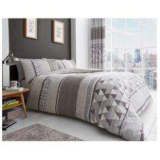 PRINTED DUVET SET MADISON NATURAL