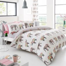 PRINTED DUVET SET NELLIE MULTI