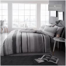 PRINTED DUVET SET NORA GREY
