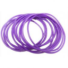 Purple Gummy Bangles (pack of 12)
